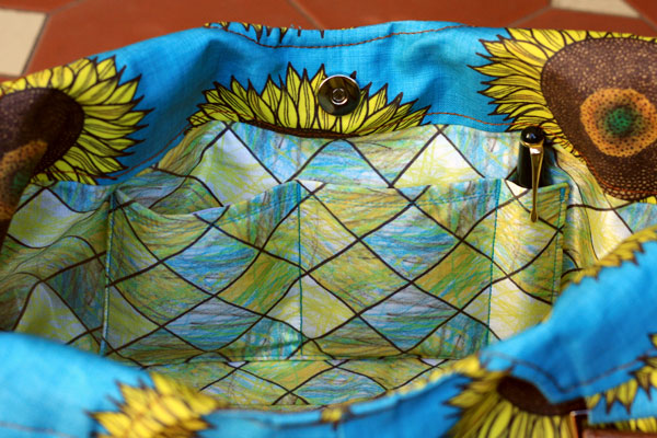 Sunflower Hand Bag