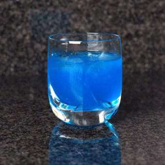 Cocktail Hour – Blue Kamikaze