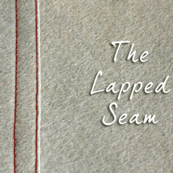 Basic Lapped Seam – Tutorial