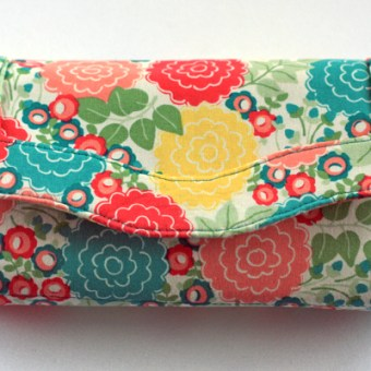 Necessary Clutch Wallet Pattern Review and Giveaway *Closed*