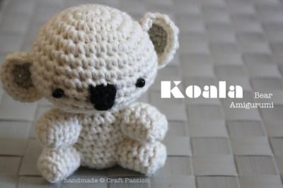 Crochet Amigurumi Koala