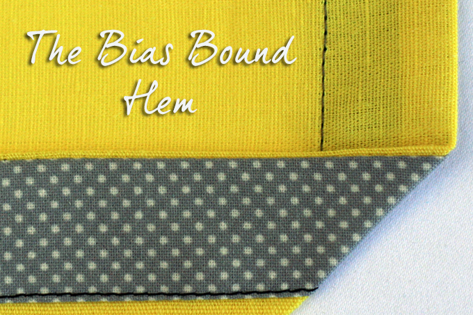 Bound Hem Tutorial