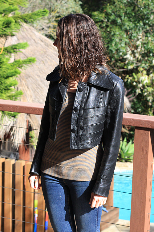 Leather Jacket Makeover