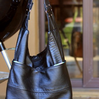 My Leather Slouch Bag