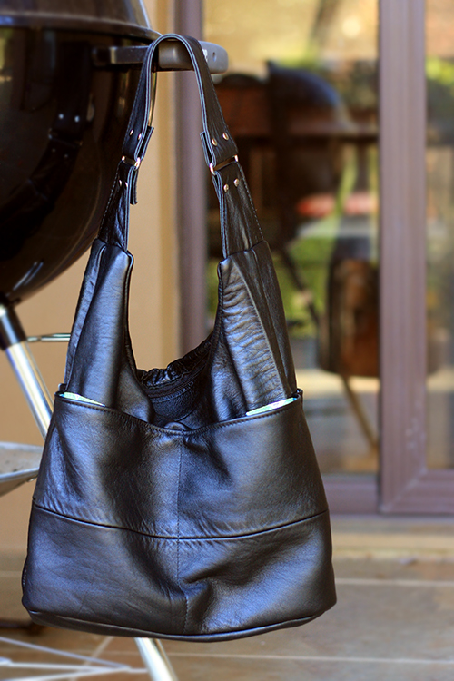 Leather Slouch Bag