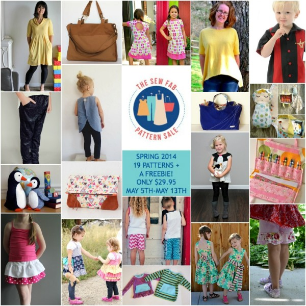 Sew Fab Spring 2014 collage