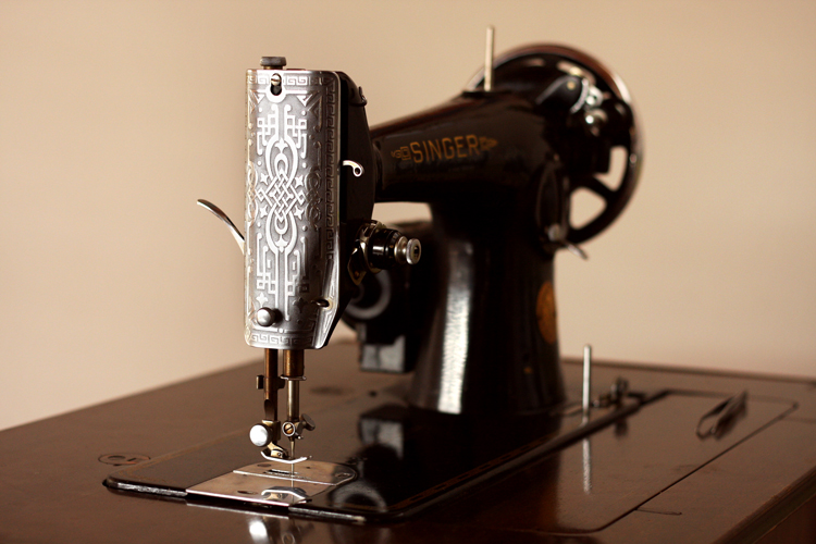 My Vintage Singer 40K Magnificent Singer Electric Sewing Machine 66 18 Value