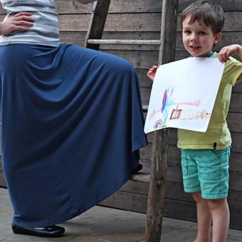 Perfect Pattern Parcel: Syrah Skirt
