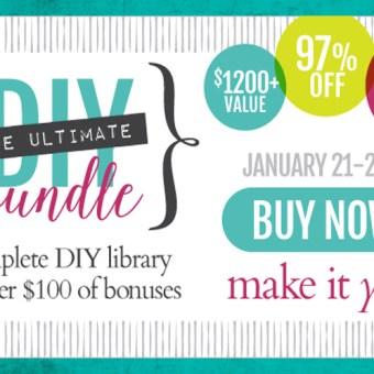 The Ultimate DIY Bundle Sale!