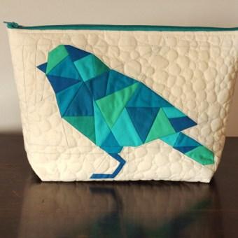 Geometric Bird Pouch