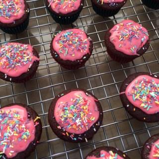 Mini Chocolate Cupcakes