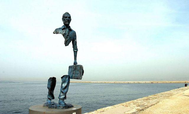 "Bruno Catalano ""Les Voyageurs"" a Marsiglia"