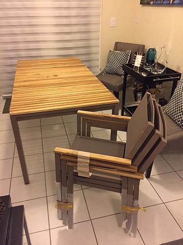 i bought hampton bay patio furniture