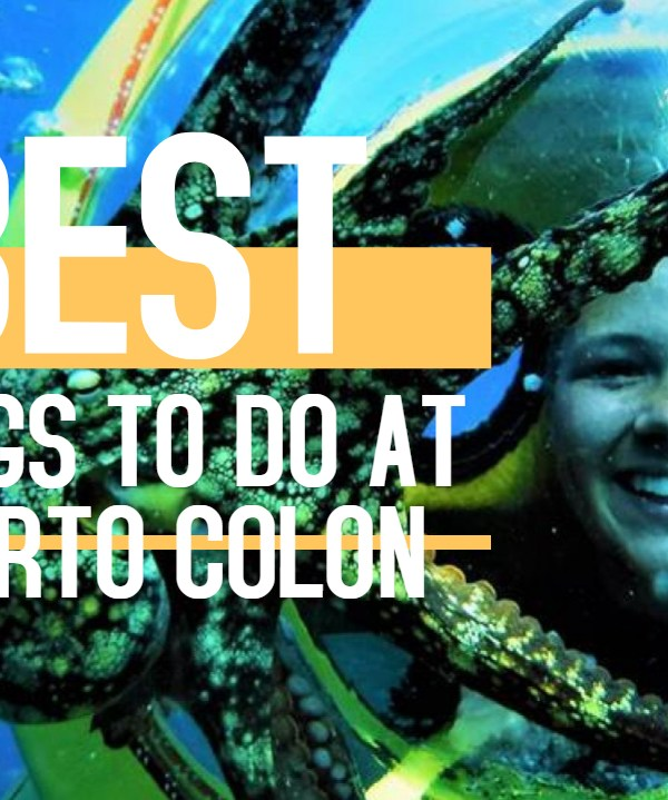 Things to do at Puerto Colon harbour