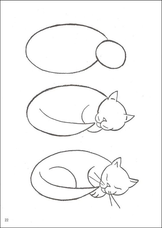 20 Adorable Tutorials On How To Draw A Cat The Things To Draw Journey