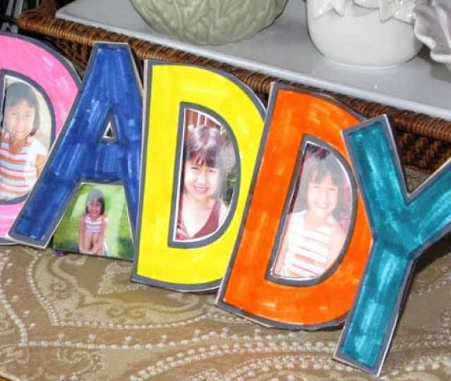 Fathers Day Crafts Daddy Frame
