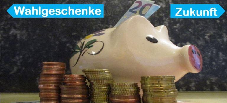 Schäubles Haushaltsüberschuss: Konsolidierung statt Wahlgeschenke