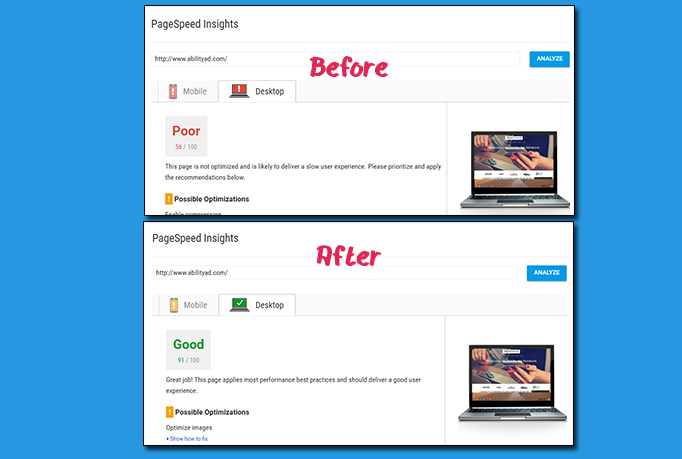How To Pass Google Page Speed Test
