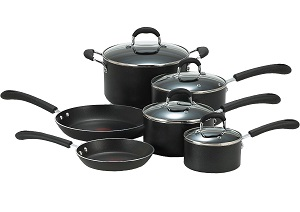 T-fal E938SA Pro Induction Cookware Set