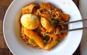 Rakbokki Korean Ramen