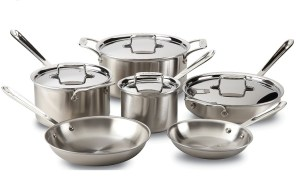 Review on All-Clad D5 Cookware Set