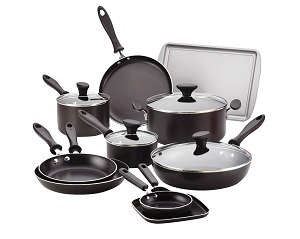 Farberware High-Performance 17-piece Cookware Set