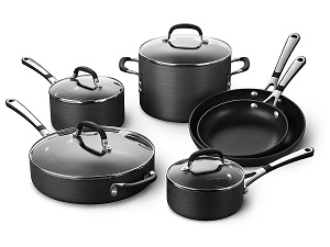 Simply Calphalon 10-Piece Nonstick Cookware Set