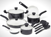 T-fal C996SE 14-Piece Ceramic Cookware Set