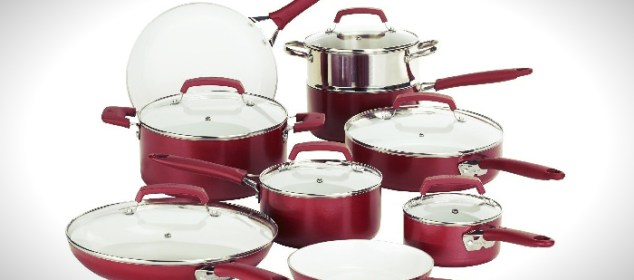 C943SF Pure Living Ceramic Cookware Set
