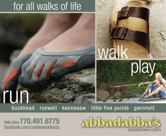 Abbadabba's Walks of Life Ad