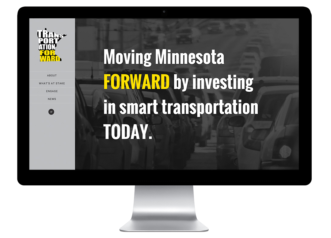 Transportation Forward website