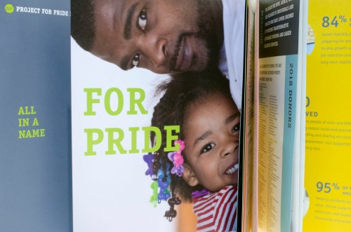 Interior Shot of Project for Pride in Living Annual Report