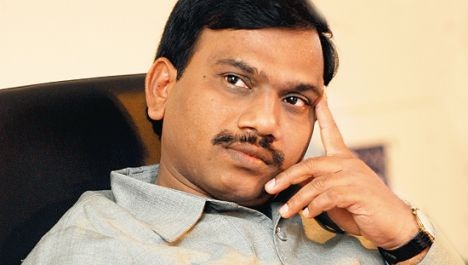 India Communications Minister A. Raja