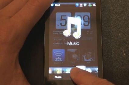 HTC TouchFLO 3D version 2.5