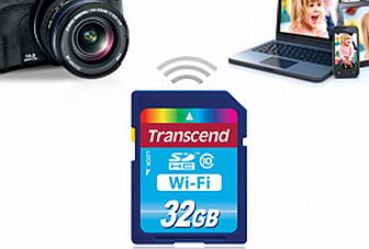 Transcend launches Wi-Fi enabled SD card