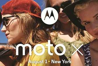 Moto X phone to be unveiled on August 1 in NYC