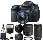 Canon EOS 70D DSLR - Holiday Gift Guide for Entrepreneurs