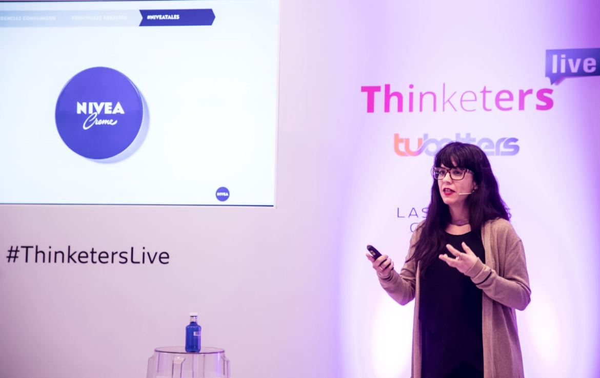 Paloma Gafo en Thinketers Live