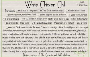 white-chicken-chili recipe