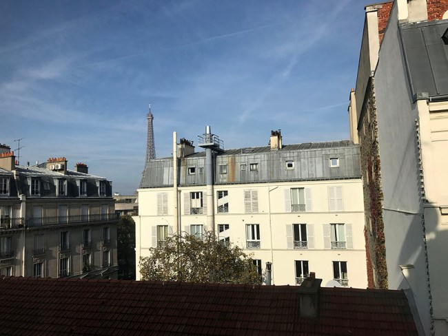 hotel muguet view paris