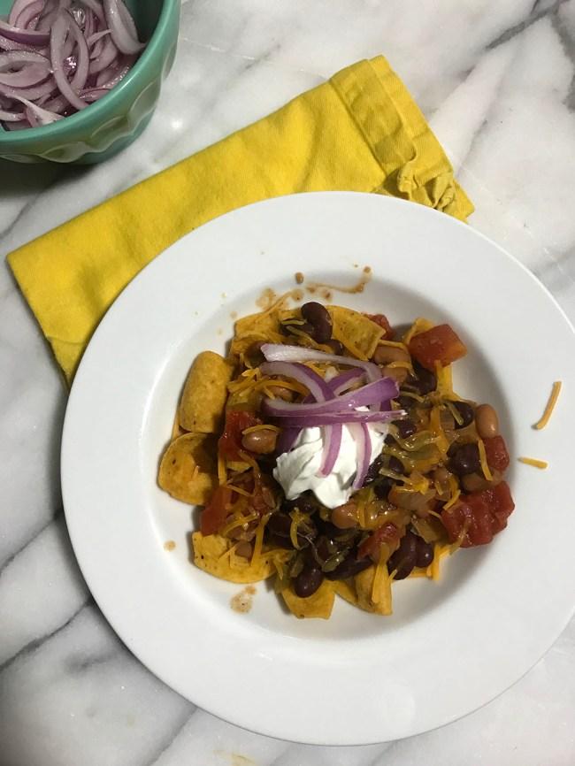 skillet veggie chili