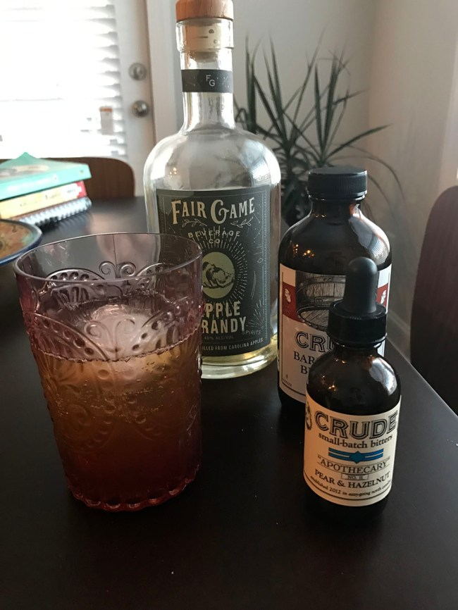 summer shrub cocktail