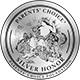 Medalla de reconocimiento de los honores de plata de elección de los padres