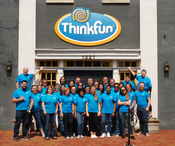 ThinkFun's Alexandria Staff