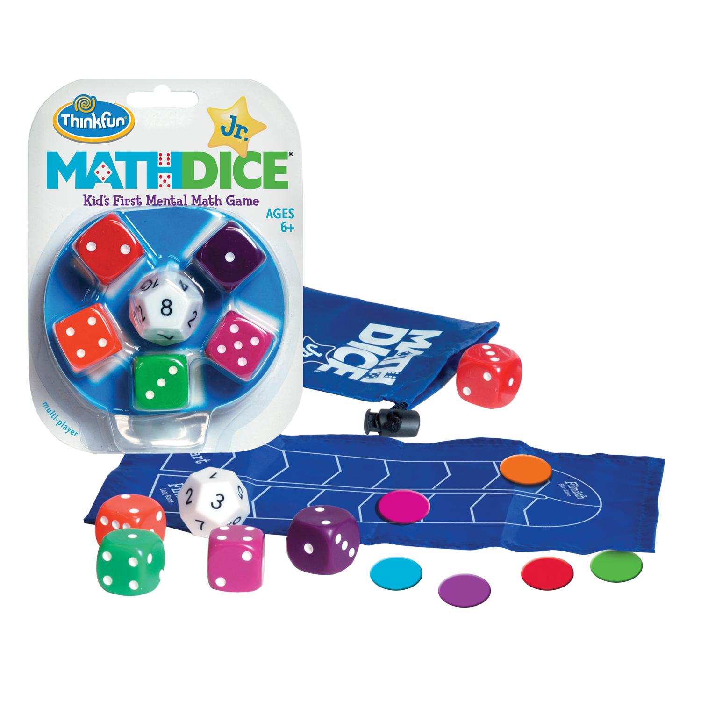YUANUS Homeschool Funny Math Games Pocket Dice Set Cool Stuff Math Learning DIY Dice Set 003-HARD Classroom Games