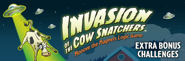 Invasion of the Cow Snatchers Bonus Challenges