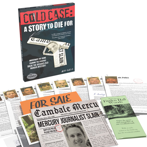 Box art for Cold Case: A Story to Die For