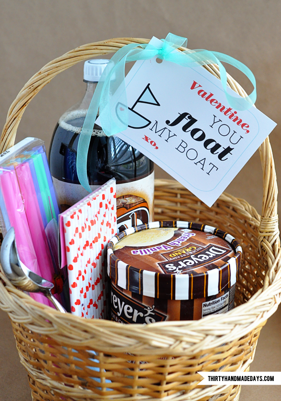 Root Beer Float Kit & Printable: Last Minute Valentine's Day Gift Idea