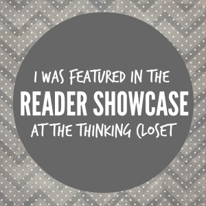 Featured Button for The Thinking Closet Reader Showcase
