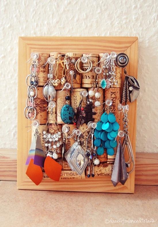 10 Inspiring DIY Jewelry Displays The Thinking Closet
